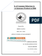 MRIDUL- A Study of Consumer Behaviour in Relation to Insurance Products in IDBI.pdf