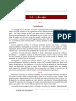 E.G.white Educatia