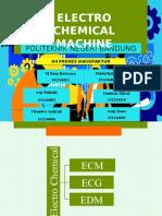 PPT PROSES MANUFAKTUR (electro chemical machining)
