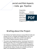 India Iran Pipeline Project
