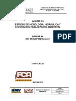 ANEXO 3.3 Hidrologia