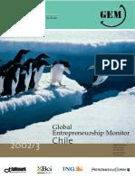 Reporte Nacional GEM Chile Año 2003
