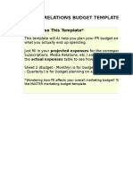 5) Public Relations Budget Template.xls