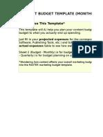 3) Content Budget Template.xls