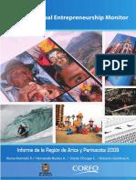 Arica y Parinacota 2009