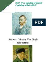 Self Portrait Lesson