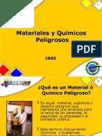 9 - Present. Mat y Quím. Peligrosos 2005.ppt