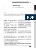 Intervencion de Terceros Litisconsorte en El PCA - Revista PUCP