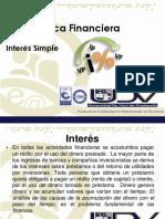 2.- Interes Simple - Matematica Financiera