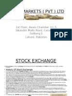 BMRN Markets Presentation
