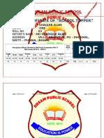 DREAM PUBLIC SCHOOL School Toppers