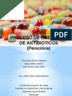 Proceso de Obtencion de Antibioticos (Penicilina)