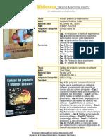 Novedades Bibliograficas Ingenierias 2015