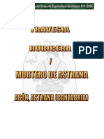 Rubicera - Mortero de Astrana (descripción y topo GEG)