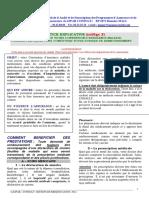Notice & Resume Assurance Sante