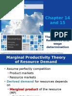 12. Distribution Theory Labor Market.ppt