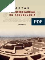 Actas Del i Cna - Vol 1 - Vw