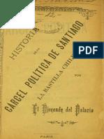 Historia  politica de la carcel publica en chile