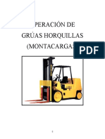 Manual Grúas Horquillas VOC