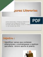 Figuras Literarias Aliteración y Onomatopeya