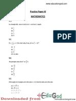 BITSAT Sample Paper 11