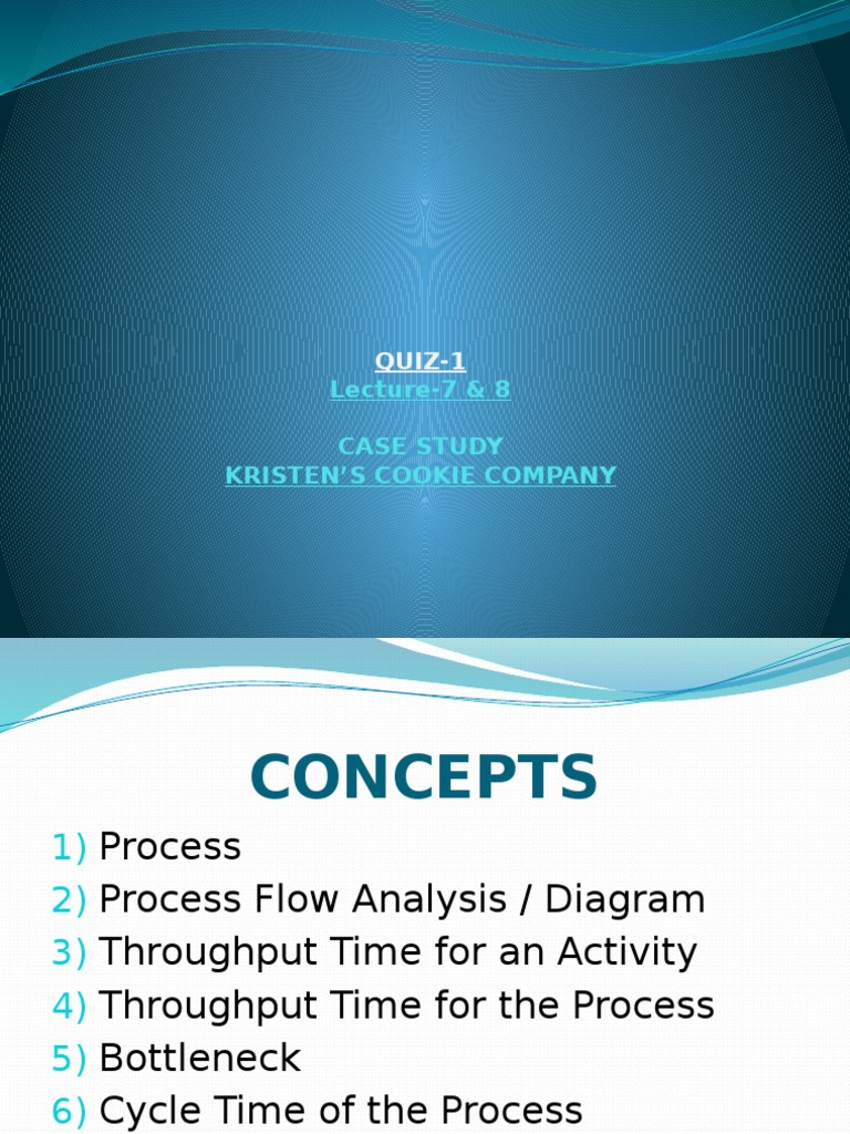 LECTURE-7+_+8-Case+Study-Kristen_s+Cookie+Company | Labour Economics |  Business