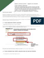 Gana 3 o Mas Dólares Una y Otra Vez Con Amazon (Fácil, Gratis y Seguro)