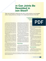 Welding Journal - February 2012 - How often can joints be cu and re-welded in low carbon steel?