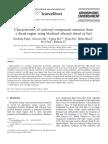 Characteristics of Carbonyl