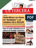 Diario La Tercera 12.10.2016