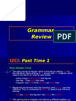 I2CI Grammar Past Time 1 and 2
