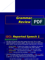 i2ci Grammar 9 Reported Speech