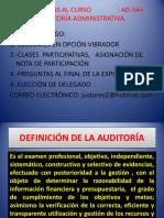 Conceptos de Auditoría , Tipos y Ubicación de Auditoría