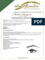 Curso de Designer de Sobrancelhas - Prospecto