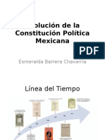 Evolución de La Constitución Política Mexicana