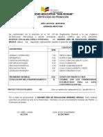 Noveno b Certificados Corregidos