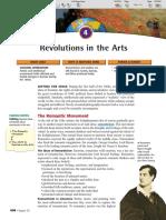 Ch 24 Sec 4 - Revolution in the Arts