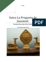 Sutra La Pregunta de Jayamati.
