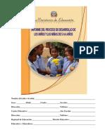 Informe d Desarrollo Actualizado 30 de Enero 2013