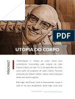 Utopia Do Corpo - Michel Foucault