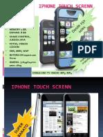 iPhone Touch Screnn