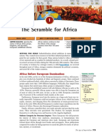 Ch 27 Sec 1 - The Scramble for Africa
