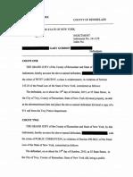 Gary Gordon's 15 count indictment