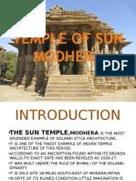 temple of sunmodhera