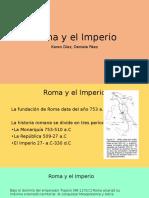 Roma y El Imperio