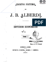 ESCRITOS POSTUMOS DE J B ALBERDI - TOMO I - ANO 1895 – PORTALGUARANI