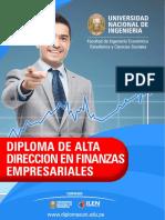 Diploma de Alta Direccion en Finanzas Empresariales