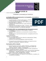 Programa de Educación Tecnòlogica 2do Nes 2016