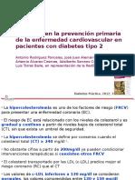 2012 Estatinas en Prev Primaria DM2 - RedGDPS