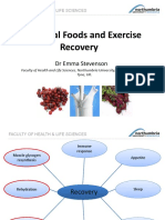 Functional Foods and Exercise